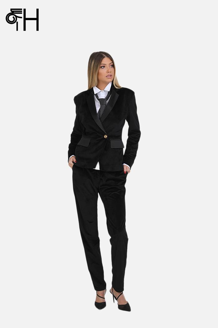 Hera pantalone crne