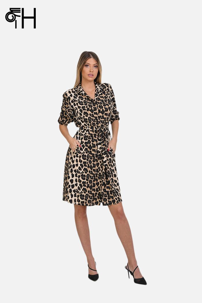 Leopard haljina