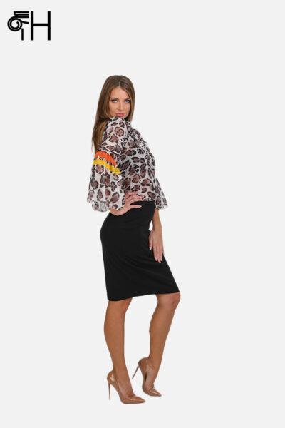 Leopard košulja sa karner rukavom 2